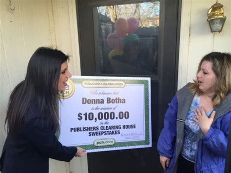 Publishers Clearing House Sweepstakes Winners - february 2016 pch blog