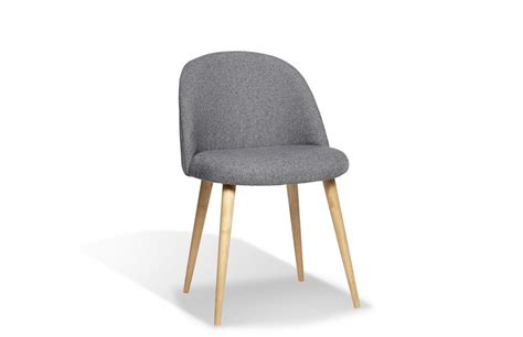 Chaise Type Scandinave by Chaise Scandinave Tissu Table De Lit