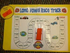 Word study program long vowel word race game scholastic com