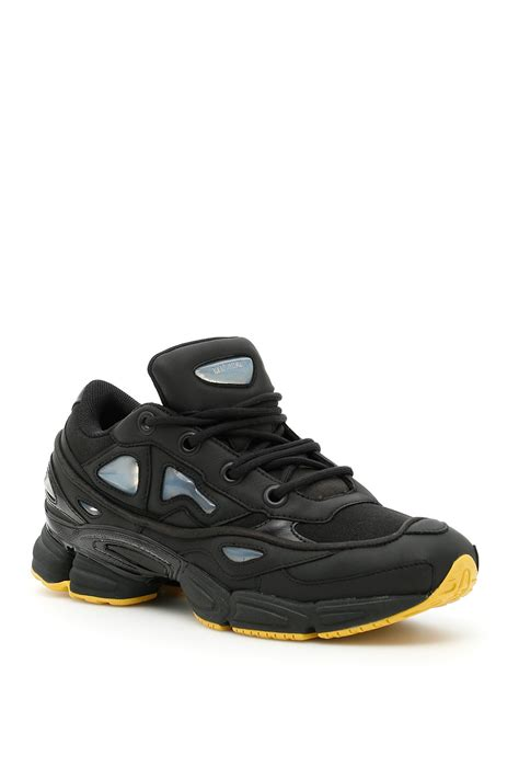 Raf Simons Ozweego Boots by Adidas By Raf Simons Raf Simons Ozweego Iii Sneakers Cblack Cblack Coreyl Giallo S
