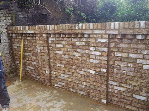 Garden Wall Kings Cross London Brickwork Garden Wall Uk