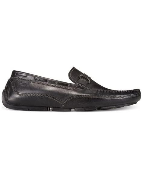 clarks slip on loafers clarks clark s s ashmont bit slip on loafers in black