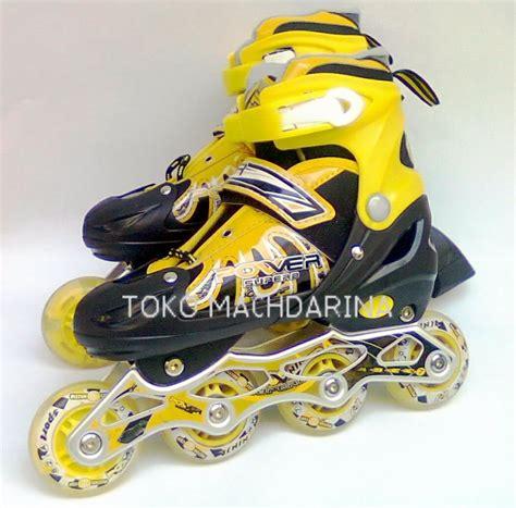 Sepatu Roda Gambar jual yellow roller blade sepatu roda toko machdarina