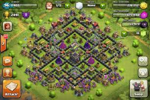 Town hall level 9 defense layout search results web design