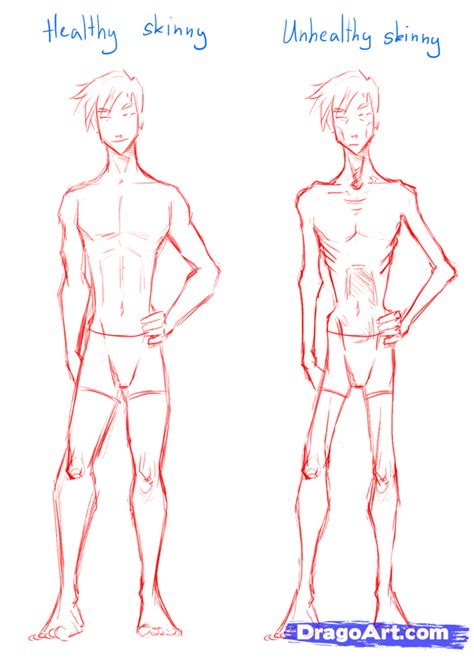 Drawing Bodies by How To Draw Draw Bodies Step By