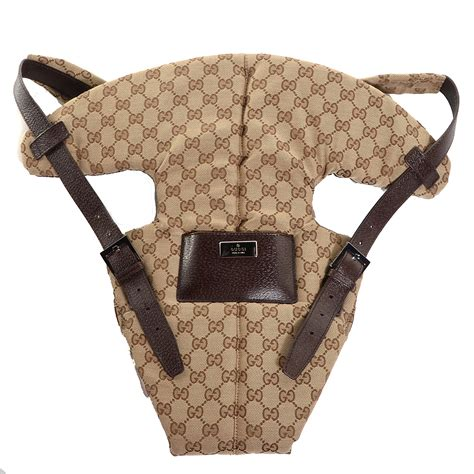 Gucci Baby Carrier Favorite by Gucci Monogram Baby Carrier Brown 87517