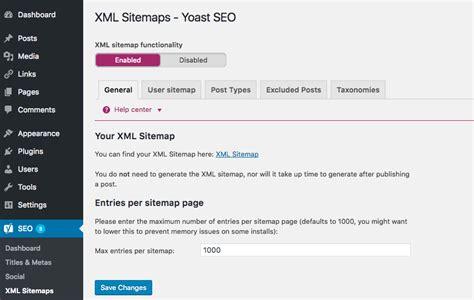 cara membuat file sitemap xml cara membuat sitemap di wordpress