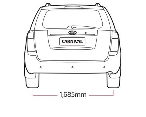 kia sedona interior dimensions kia carnival sedona specs multi seater mpv kia motors