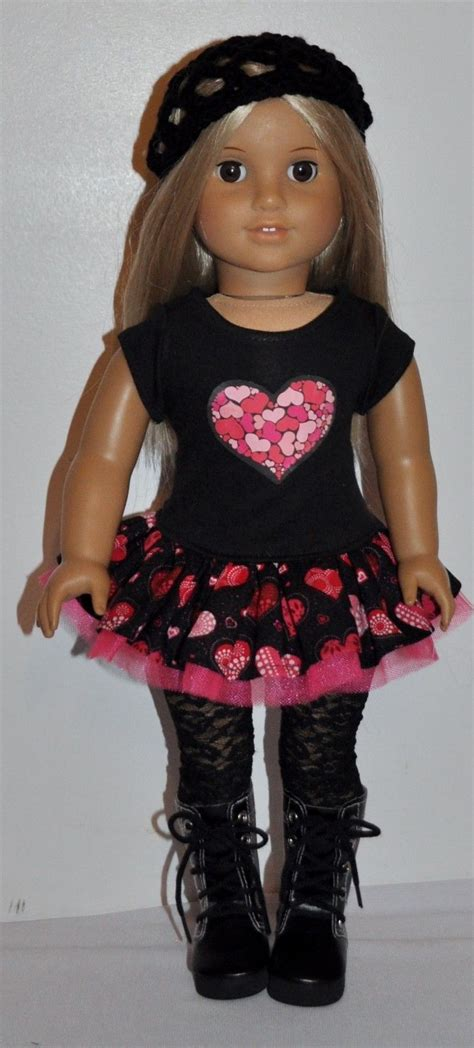 18 Inch Doll by American Made Doll Clothes For 18 Inch Dolls Dress