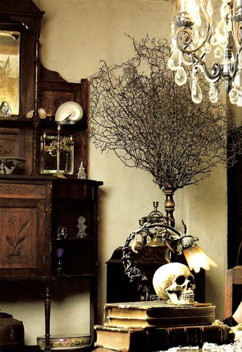 Gothic Home Decorations | 21 gorgeous gothic home office and library d 233 cor ideas