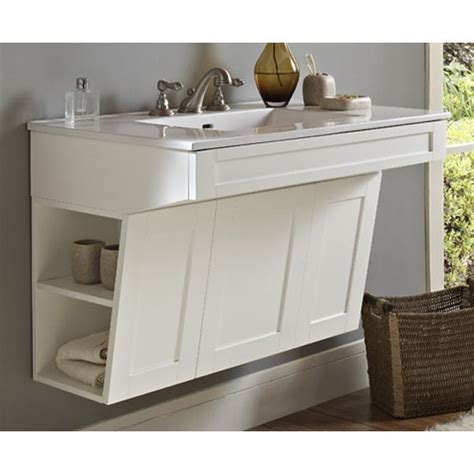 Ada Compliant Bathroom Vanity Design Journal Archinterious Shaker36 Wall Mount Vanity Ada Compliant By Fairmont Designs