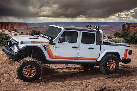 Easter Jeep Safari 2020 by Here Are The Jeep Gladiator Concepts For The 2019