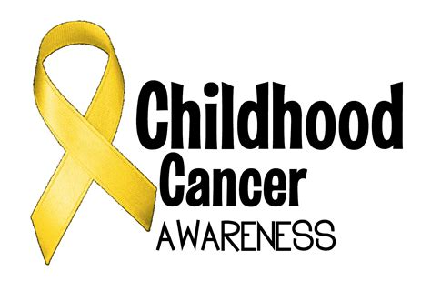 childhood cancer color september childhood cancer awareness month
