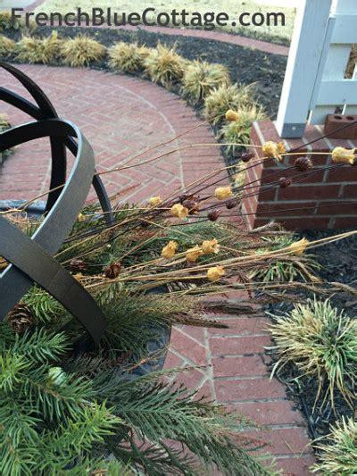 diy metal garden diy quot metal quot garden spheres blue cottage