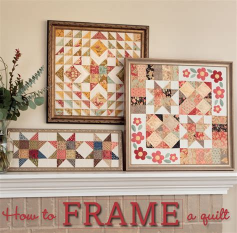 how to frame a quilt quilting digest