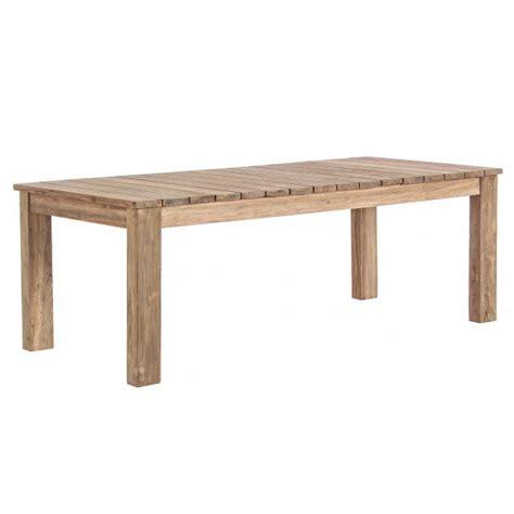 mobili giardino teak tavolo rustico allungabile teak giardino mobili per