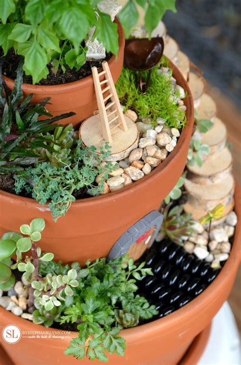 Flower Pot Garden Ideas Flower Pot Garden Bigdiyideas