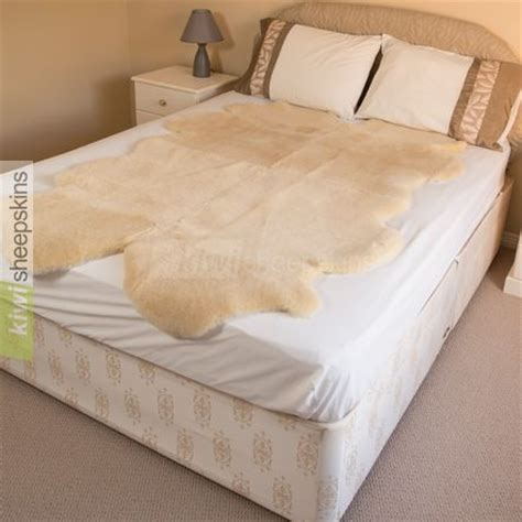 sheepskin comforter natural shape medical sheepskin underlay improves sleep