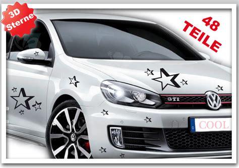 Autoaufkleber Xxl by Autoaufkleber 3d Stars Auto Aufkleber Sterne Xxl Set