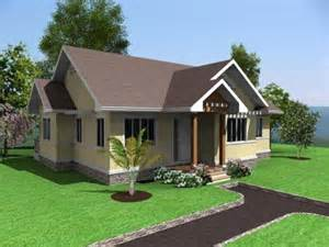 Simple Houseplans Simple House Design 3 Bedrooms In The Philippines Simple
