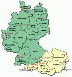 Germany Austria Map by Palm Os