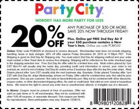 party city halloween 2017 coupons free printable party city coupon june 2017