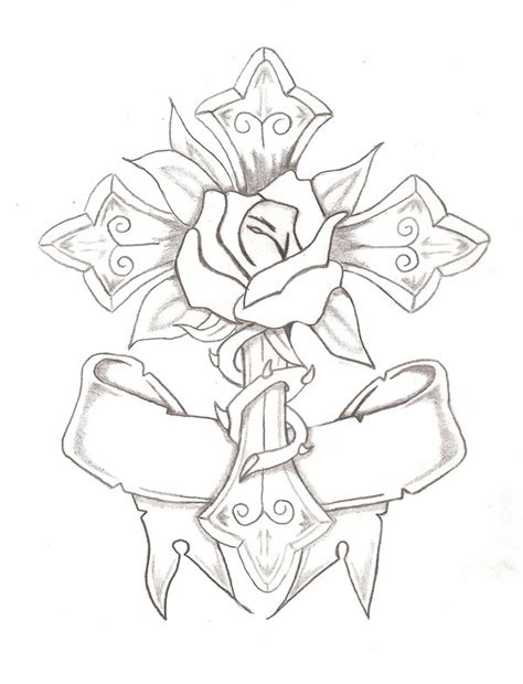rose and cross by bubba onion on deviantart