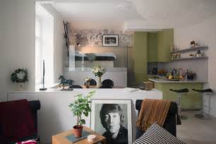 Small Studio Apartment small studio apartment in stockholm with sleeping loft idesignarch