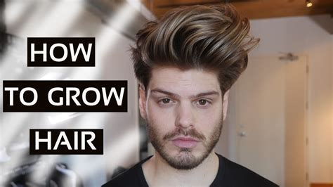how to grow mens hair so it han be long on top and faded on sides how to grow hair longer according to science men s