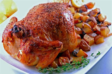 garlic roast chicken blissfully delicious
