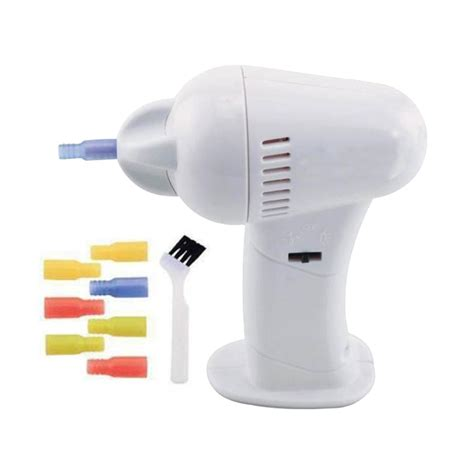 cordless safe auto led electric ear wax remover cleaner wax vac vacume painless ebay