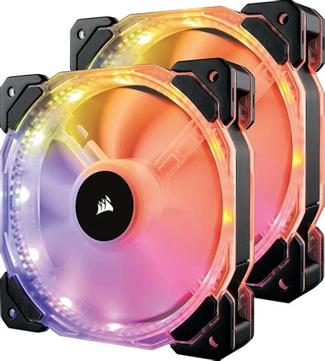 corsair hd120 rgb 54 4 cfm 120mm fan best rgb fans for gaming pc in 2018 120mm 140mm rgb led