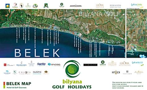 belek resort hotel map golf specialist in turkey special offers time