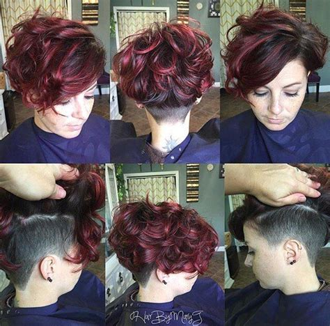 short side part hair styles 360 view image result for asymmetrical undercut women 360 view