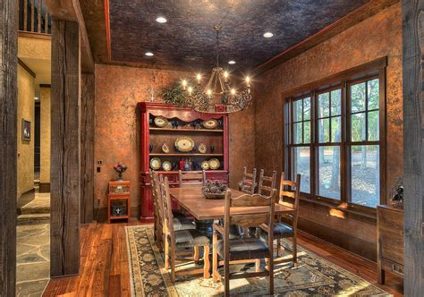 rustic dining room wall decor ideas thelakehouseva com 30 delightful dining room hutches and china cabinets