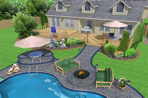 L H Interiordesign Backyard Landscaping Ideas For Small Small Backyard Pool Landscaping Ideas