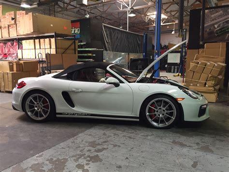 Porsche Boxster 981 Tuning 187 porsche 981 boxster spyder ecu tune