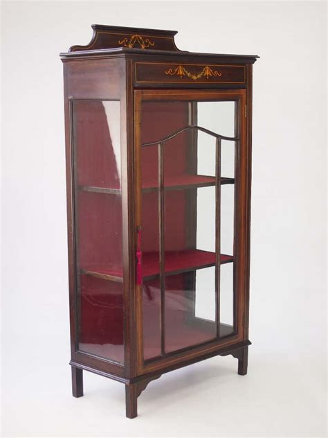 small display cabinet mahogany indonesia furniture small edwardian mahogany cabinet bookcase for sale