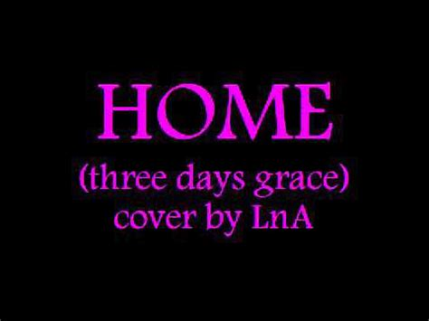 home three days grace cover by lna