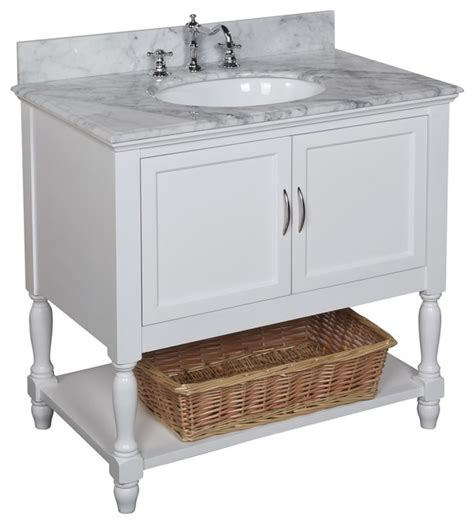 Traditional Bathroom Vanities Beverly Bath Vanity Traditional Bathroom Vanities And Sink Consoles By Kitchen Bath Collection