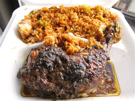 jerkin chicken food truck 2 bros pizza plus jerk chicken and spicy rice me so hungry