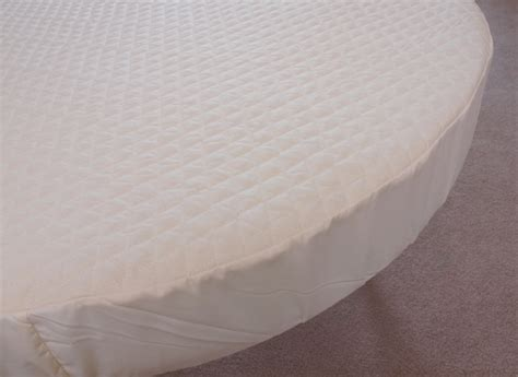 Round Crib Mattress Topper Cover Padded For 42 Mattress Topper For Crib