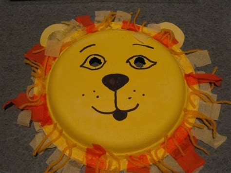 paper plate craft arty kids