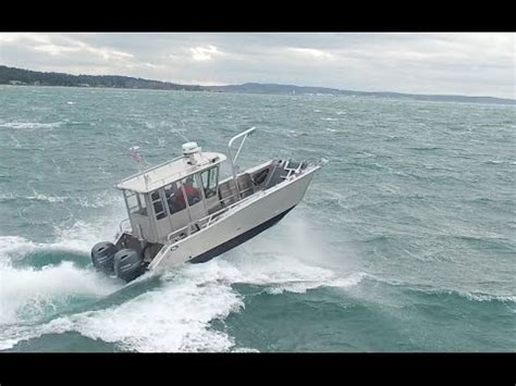 munson boats rough water performance youtube - Aluminum Boats In Rough Water