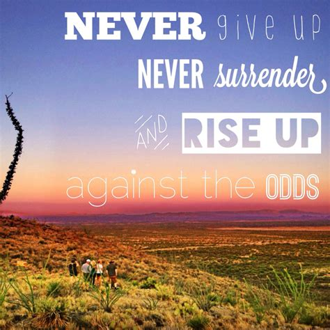 never give up hockey never give up quotes quotesgram