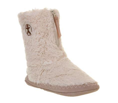 bedroom boots womens bedroom athletics marilyn iii slipper boots cream fur boots ebay