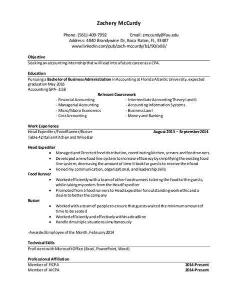 Resume For A Fair resume career fair