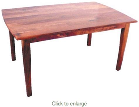 Table San Rafael by San Rafael Mesquite Dining Table With Curved Legs 60 Inch