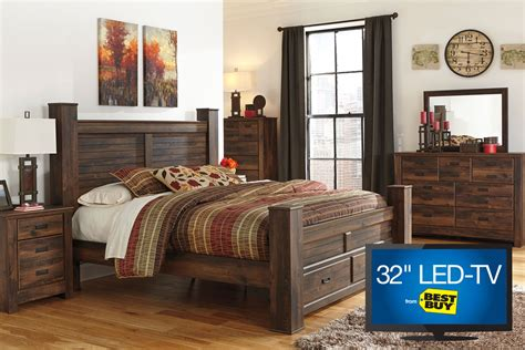 Bedroom Set With Tv by Quinn King Bedroom Set With 32 Quot Led Tv