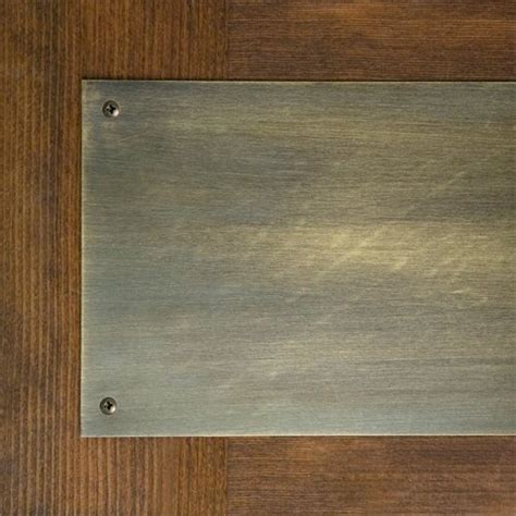 Brass Kick Plates For Front Doors Solid Brass Kick Plate For Front Door Fantasies For Woody Pintere